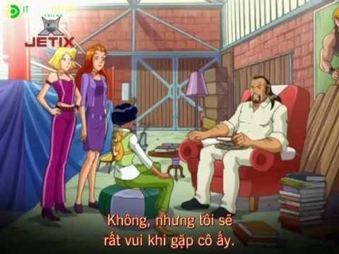 Totally Spies - Phim Hoạt hình ba nữ thám tử Phần 2 tập 19 Totally Switched