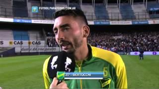 """Bertocchi: """"Fue justo el resultado"""". San Lorenzo 1 - Defensa 2. 8vos. Copa Argentina 2014. FPT"""