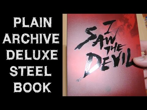 I SAW THE DEVIL Plain Archive Steelbook Blu-Ray PET Full Slip Unboxing