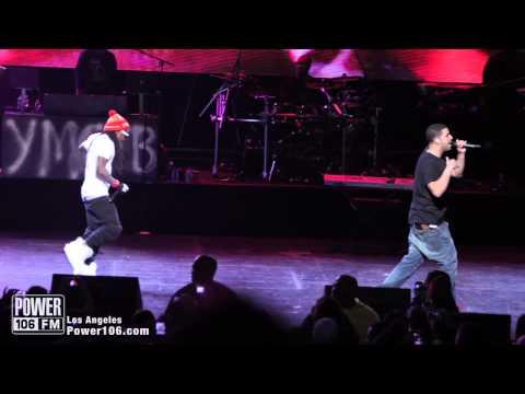 Drake & Lil Wayne Perform (The Motto) at Power106 Cali Christmas 2011