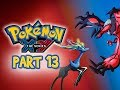 Pokemon X and Y Gameplay Walkthrough Part 13 - Battle Chateau 3DS Let's Play Commentary)