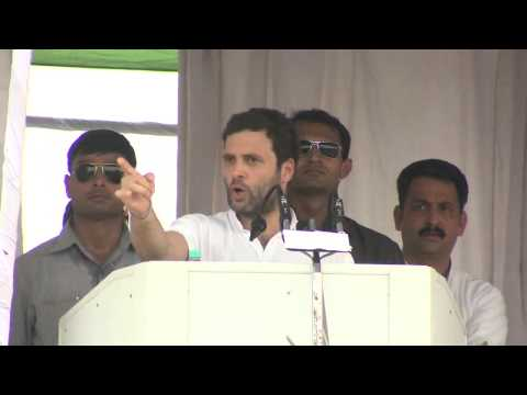 Rahul Gandhi's Address at a Public Rally in Sangrur, Punjab on Oct 10, 2013.