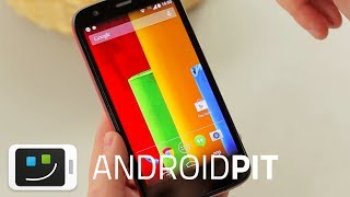 Moto G Rodando Com Android 4.4.2 KitKat [HANDS ON]