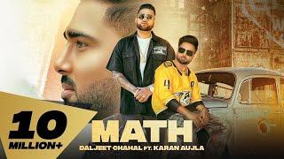 Math Daljit Chahal Ft Karan Aujla Video HD Download New Video HD