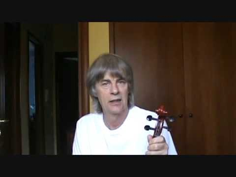 THE VIOLIN: LESSON FIVE: THREE FINGER EXERCISE