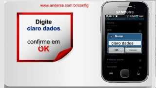 Samsung Galaxy Y Configurações Internet Claro