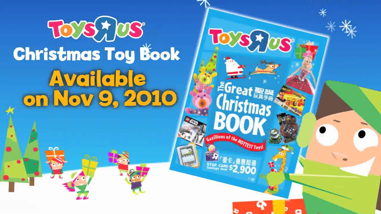 Toys R Us Christmas : Toys r us christmas toy book coming soon youtube