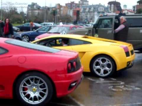 Vídeos de la Concentración de coches deportivos en Santander