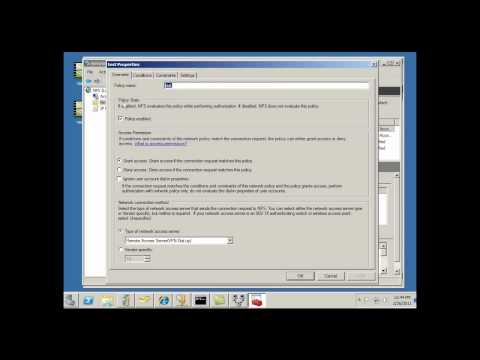 Install & Configure Remote Access Server for VPN in Server 2008 - Part 2