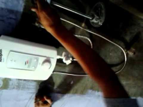 Aprende como reparar una rapiducha rapida youtube for Como instalar una terma electrica