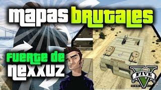 GTA V Online - 3 Mapas Brutales! - Fuerte de Nexxuz - Drifting extremo - Salto final!