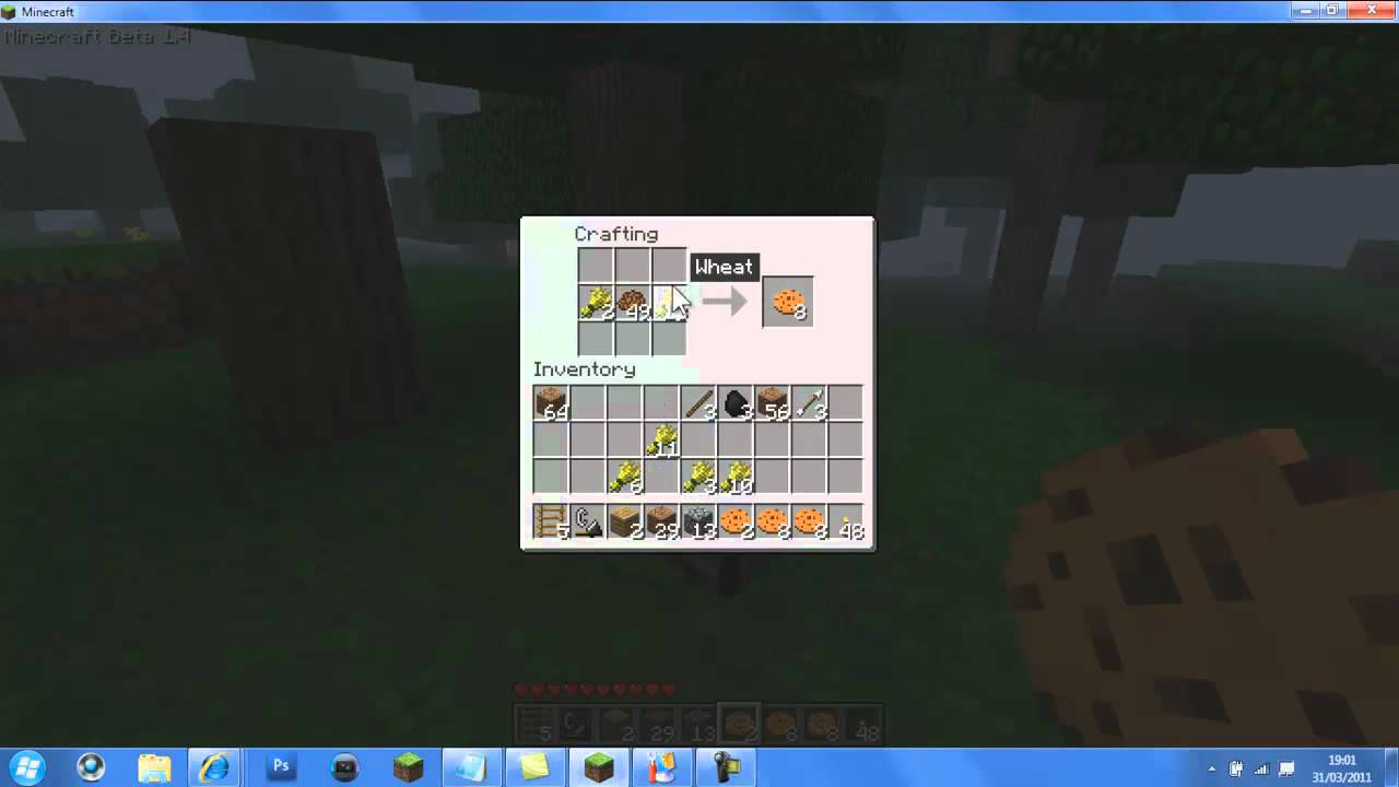 how to make cookies in minecraft 1.9