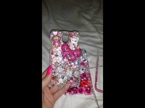 Luxe addiction Hello kitty swarovski case
