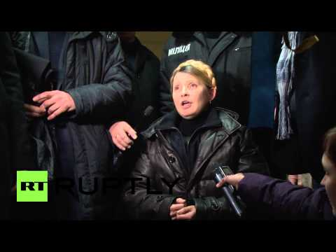 Ukraine: Tymoshenko speaks after being freed