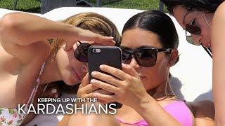 KUWTK | Kim Kardashian Gets Upset Over Bad Paparazzi Pics on Vacay | E!
