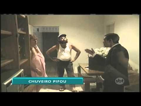 O chuveiro está Quebrado – Silvio Santos – SBT title=