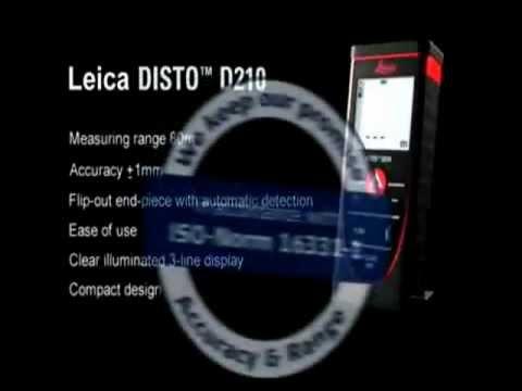 Лазерная рулетка (дальномер) Leica DISTO™ D210