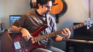 The Bee Gees How Deep Is Your Love (Bass Cover)