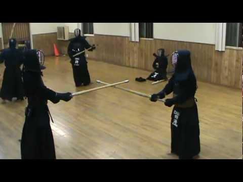 Kyung nam kim vs masashi shikai chuo dojo la kendo for Kendo dojo locator