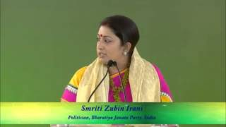 Smriti Irani On Women Issues Congress Must Watch Before
