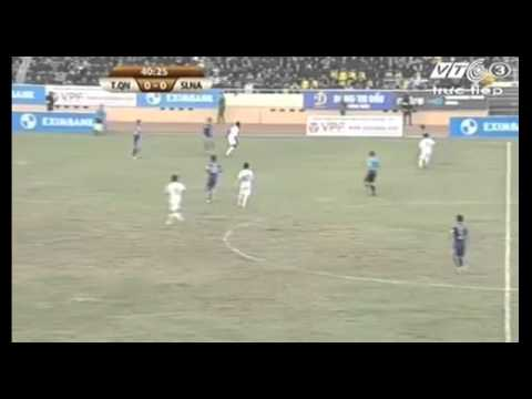 V League: Than Quảng Ninh 0-1 Sông Lam Nghệ An