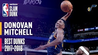 Donovan Mitchell Best Dunks of the Season   2018 Dunk Contest Participant