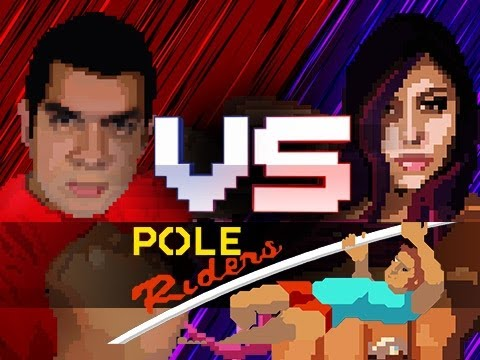 """WET NOODLE!"" Pole Riders (Husband vs Wife)"