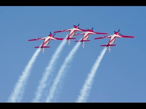 Jupiter Aerobatic Team Singapore Airshow 2014 ジュピターエアロバティックチーム シンガポールエアショー2014