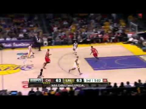LA Lakers Vs Chicago Bulls - Game Recap &amp; Highlights - Season Opener Christmas Day 2011