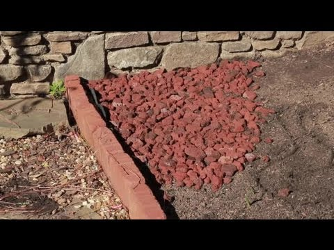 How to landscape with lava rock landscaping basics youtube for Brown lava rock for landscaping