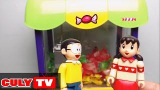 đồ chơi doremon chế hài - quà Sinh nhật Nobita máy gắp kẹo mini candy catcher machine doraemon toy
