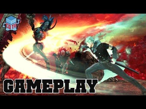 COTV - DmC Vergil's Downfall DLC IMPRISONER Boss Battle Gameplay