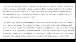 [Erad Systems - Heating modes] Video