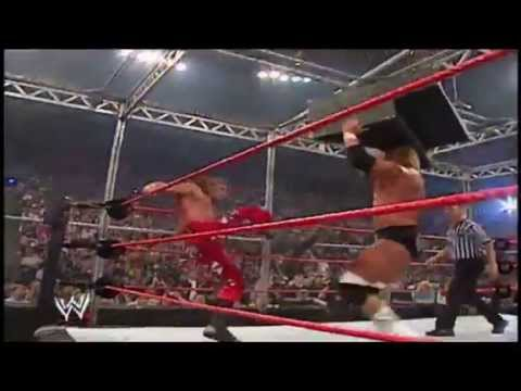 WWE Classic matches | HHH VS HBK Bad Blood 2004 Highlights