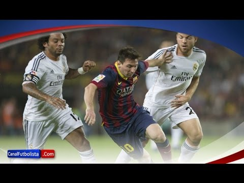Messi vs Real Madrid | Barcelona 2-1 Real Madrid | El Clásico | 26-10-2013