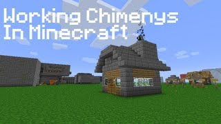 How To: Make A Working Chimney In Minecraft [No Mods