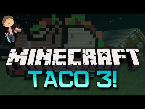 Minecraft: THE TACO UPRISING: Abducted by the Taco 3 w/Mitch & Friends! Part 1 of 2!