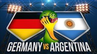 Unguru' Bulan Germania Argentina (Marea Finala
