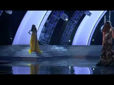 Miss Universe 2012 - Diem Huong catwalks in Swimsuit & Evening gown
