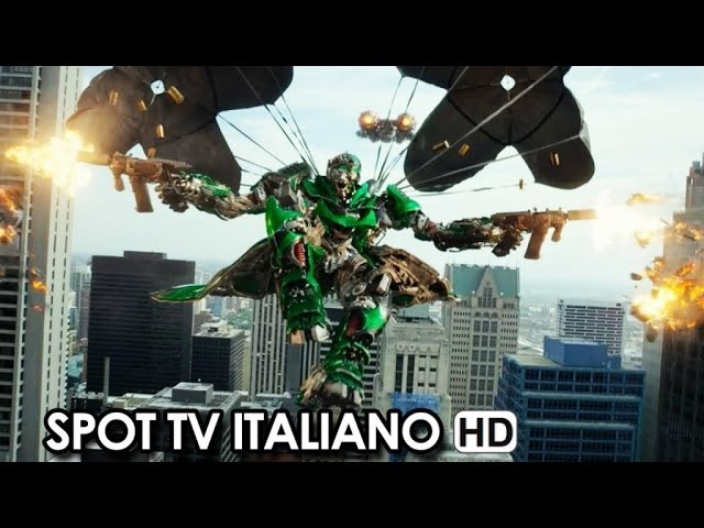 Transformers 4: L'era dell'estinzione Spot Tv Ufficiale Italiano (2014) -  Mark Wahlberg HD