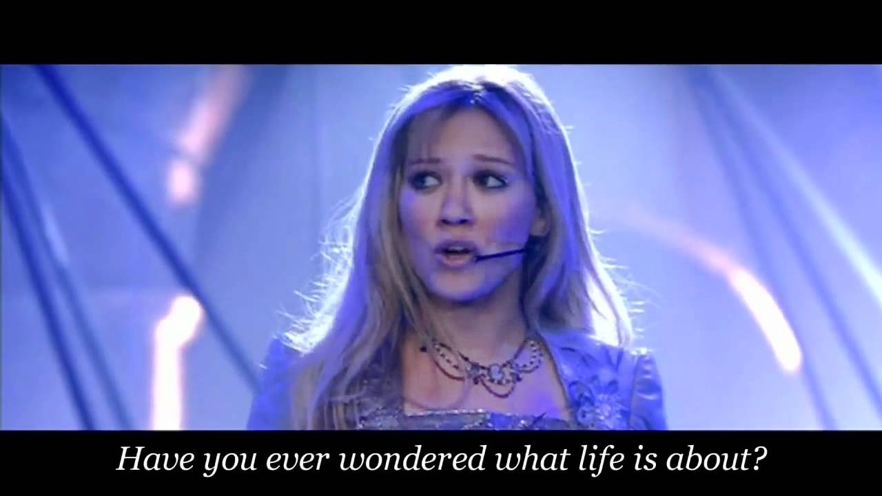 Hilary Duff - What Dreams Are Made Of (Movie Version) With ... Hilary Duff Lyrics