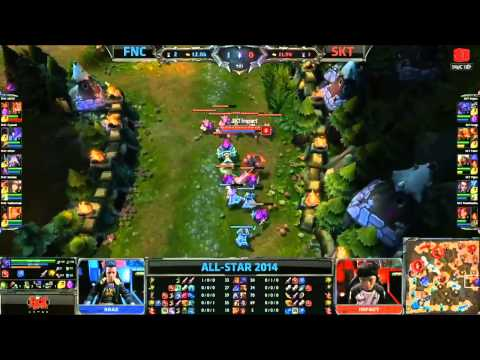[09.05.2014] FNC vs SKT [All-Star Paris 2014]