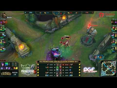 PGS Promotions and Relegations Summer 2017 - XES vs TNC Game 2/2