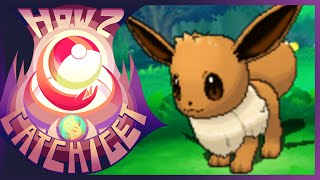 How & Where To Catch/get Eevee In Pokemon Omega Ruby