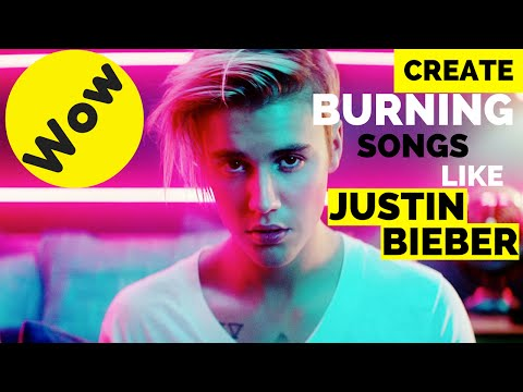 How to create a burning Album songs like Justin Bieber || Secrets followed by bieber
