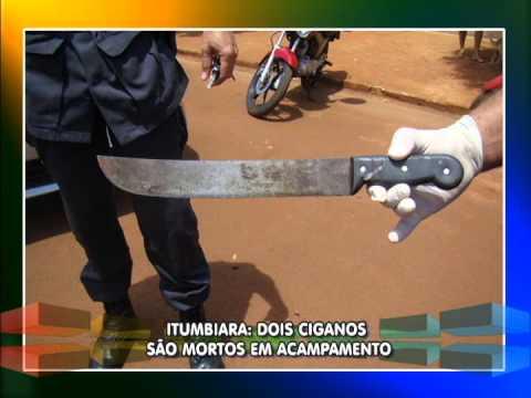 Dois ciganos são mortos em acampamento em Itumbiara