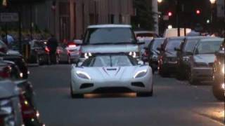KOENIGSEGG AGERA R FULL THROTTLE IN LONDON!