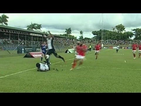 [HIGHLIGHTS] Fiji v Tonga - PNC 2014