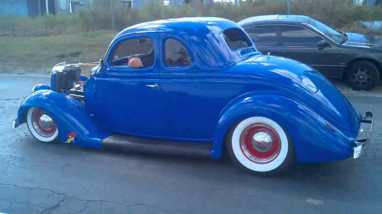 Ray minchin 39 s 1936 ford 5 window coupe youtube for 1936 ford five window coupe