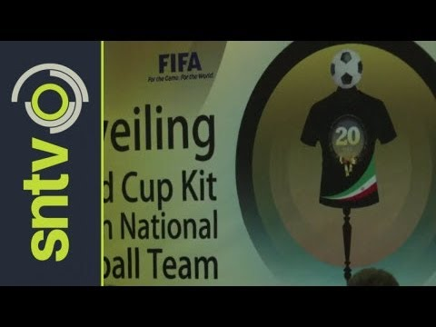 Iran's World Cup kit is unveiled in Tehran